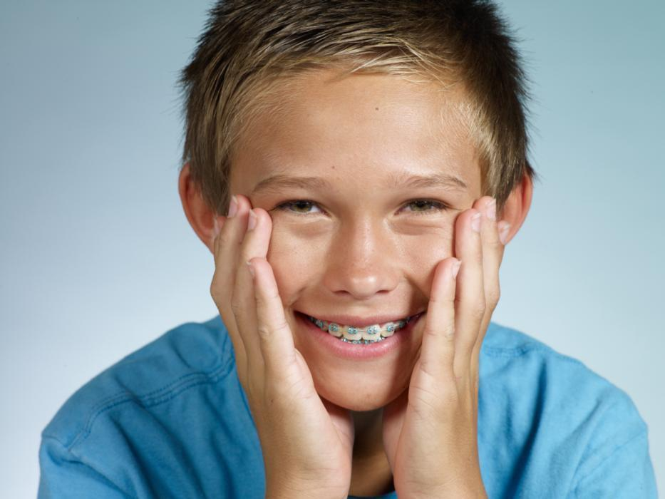Braces for Kids in Santa Monica | Young Boy with Braces Smiling