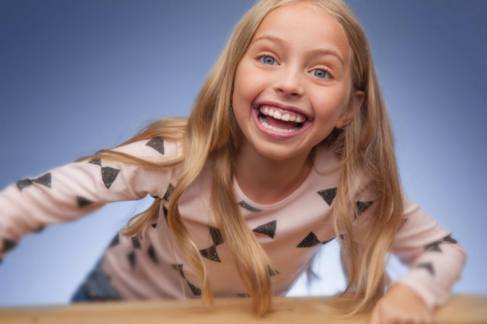Orthodontics for Kids in Santa Monica | Laughing child